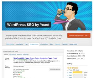 Yoast wordpress plugin called wordpress SEO does what says on the tin