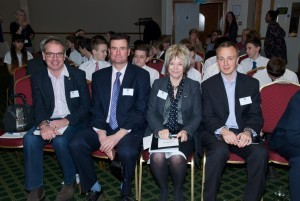 The judges at North Hampshire Young Enterprise Final