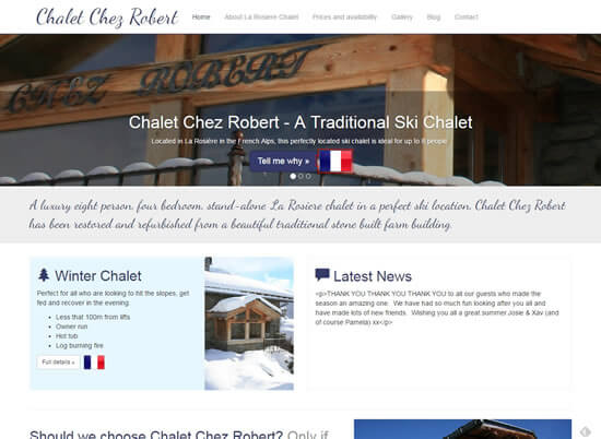 La Rosiere Chalet Chalet Chez Robert v2